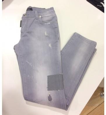 My Brand jeans broek Pietro destroyed jeans in de kleur grey grijs