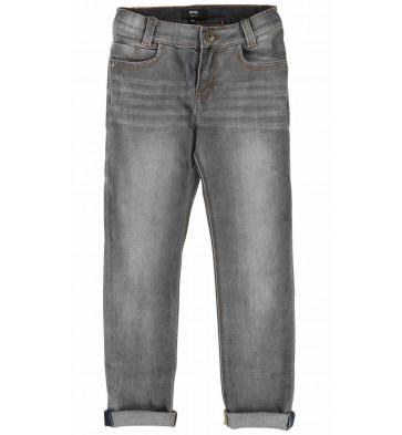 Hugo Boss kids slim fit jeans broek in de kleur grijs