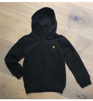 Lyle and scott hoodie sweater trui in de kleur zwart
