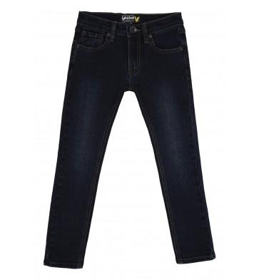 Lyle and Scott skinny fit jeans broek light rinse in de kleur jeansblauw