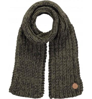 Barts kabel sjaal in de kleur groen
