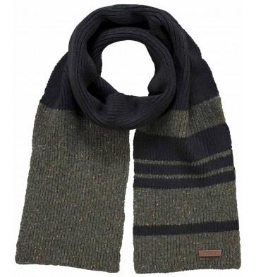 Barts sjaal in de kleuren zwart/groen