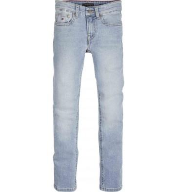Tommy Hilfiger boys lichte denim broek in de kleur jeansblauw