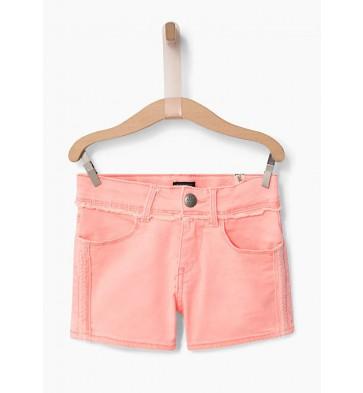 IKKS korte broek jeans short in de kleur zalmroze