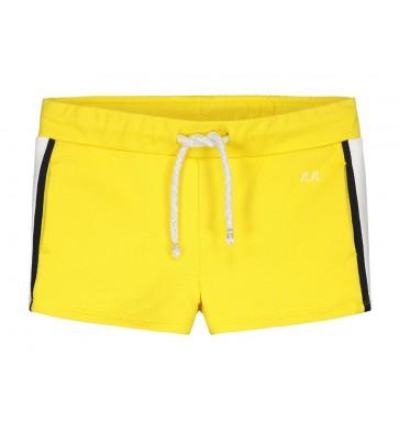 Nik en Nik sweat short korte broek Fidda short in de kleur sunny yellow geel
