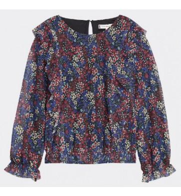 Tommy Hilfiger blouse met bloemenprint in de kleur multicolor