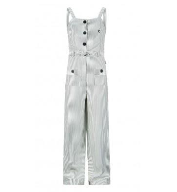 Retour jeans kids girls broekpak Eeke met fijne streep in de kleur zwart/wit