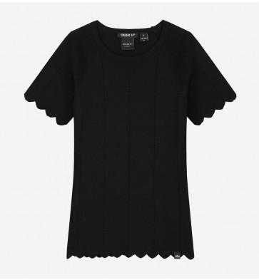 Nik en Nik girls Gracy jolie top in de kleur black zwart
