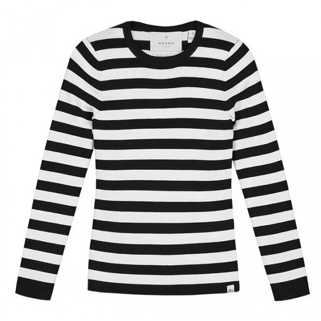 Uitzonderlijk Beroemd Zwart Wit Streepjes Shirt #RYZ29 - AgnesWaMu &IL24