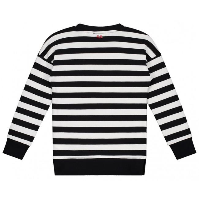 Gestreepte Trui Zwart Wit.Nik En Nik X Beautynezz Gestreepte Sweater Trui Shopping In De