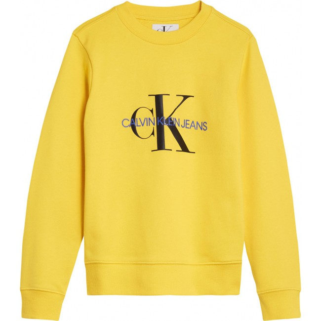 In Boys De Kids Lemon Logo Calvin Trui Kleur Met Sweater Klein Print 48q6Exa
