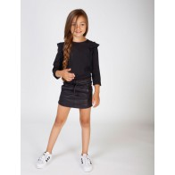 Miss Moscow kids skirt rok animal skin look in de kleur donkerblauw