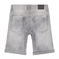 Nik en Nik korte broek ferdinand denim short in de kleur grey denim
