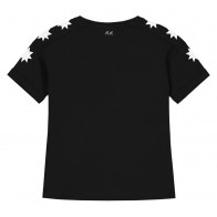 Nik en Nik girls starlucky t-shirt in de kleur black zwart