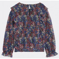 Tommy Hilfiger blouse met bloemenprint in de kleur multicolor