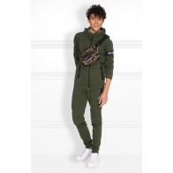 Nik en Nik Boys sweatpants Ferhat pants in de kleur army green groen