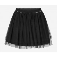 Nik en NIk girls tule rok iris skirt sporty in de kleur black zwart