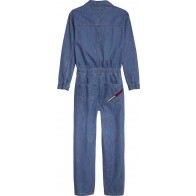 Tommy Hilfiger denim overal in de kleur jeansblauw