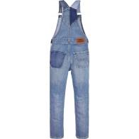 Tommy Hilfiger denim tuinpak in de kleur jeansblauw
