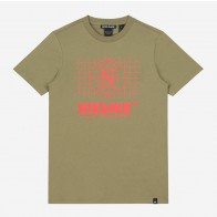 Nik en Nik boys t-shirt global forest in de kleur army green groen