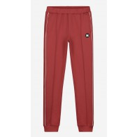 Nik en Nik boys track jacket Murry trackpants in de kleur mid red bordeaux rood