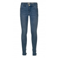 Indian blue jeans blue jill flex skinny fit noos in de kleur medium denim