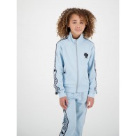 Reinders kids girls tracking vest in de kleur baby blue lichtblauw