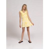 Nik en Nik girls Sabrina tie dye skirt rok in de kleur geel
