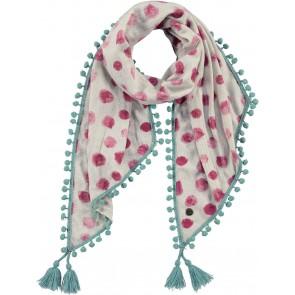 Barts kids scarf sjaal Mashu in de kleur zand/roze