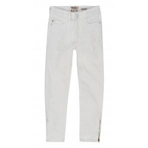 Indian blue jeans broek white nova skinny in de kleur off white