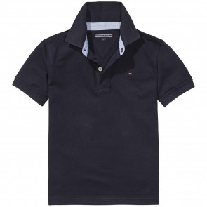 Tommy Hilfiger tommy polo shirt nos in de kleur donkerblauw
