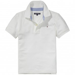 Tommy Hilfiger tommy polo shirt nos in de kleur wit