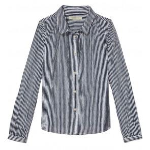 Scotch R'belle blouse met strepen in de kleur zwart/wit