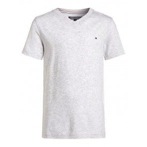 Tommy Hilfiger V-neck shirt in de kleur grijs