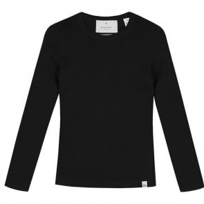 NIK&NIK longsleeve shirt jolie top in de kleur zwart