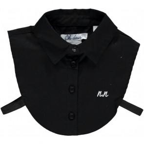 NIK&NIK shirt collar jeans kraagje in de kleur zwart