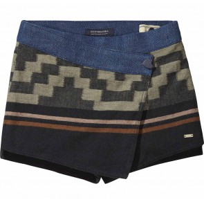 Scotch R'belle short skort met aztec print in de kleur multicolor