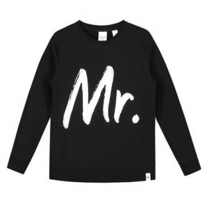 Nik en nik sweater trui George Mr in de kleur zwart