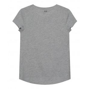 Nik en Nik Meavy t-shirt Rock Chick in de kleur grijs