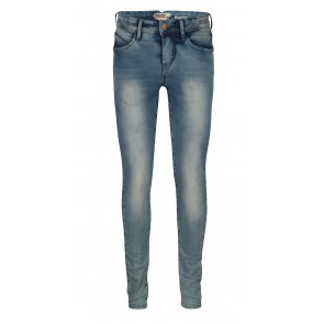 Indian blue jeans broek blue jazz super skinny fit in een lichte wassing