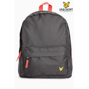 Lyle and scott rugzak backpack in de kleur zwart