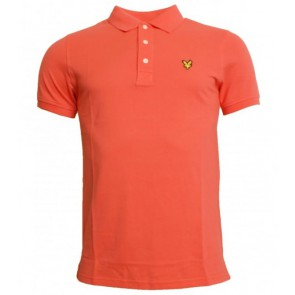 Lyle and Scott polo shirt in de kleur rood