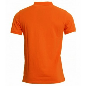 Lyle and Scott polo shirt in de kleur fel oranje