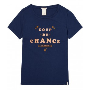 Scotch R'belle shirt Coup de Chance in de kleur donkerblauw