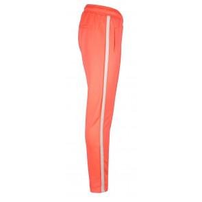 Indian blue jeans sports pants in de kleur bright coral-oranje