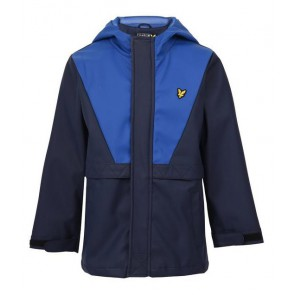 Lyle and Scott junior kids zomerjas regenjas in de kleur blauw