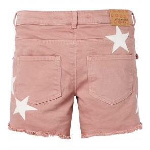 Scotch R'belle short broek met sterren in de kleur oud roze