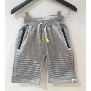 D-rak sweat short in de kleur grijs