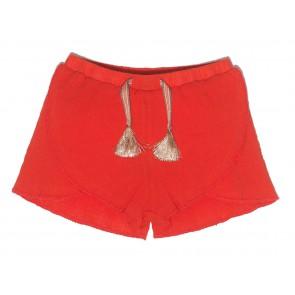 Le Big short broek in de kleur oranje