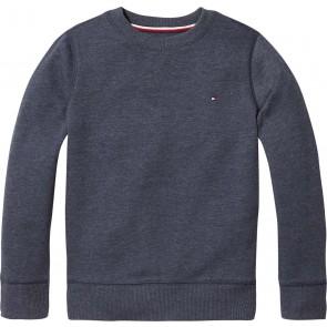Tommy Hilfiger basic sweater trui in de kleur blauw